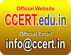 Official Email info@ccert.in